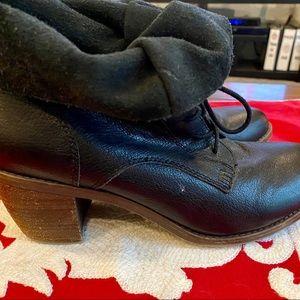 Steve Madden ankle boots, 10 size, black